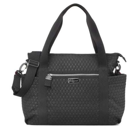 Babymel Cara Ultra-Lite Black Scuba Changing Bag