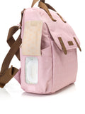 Babymel Robyn Convertible Backpack Changing Bag Dusty Pink