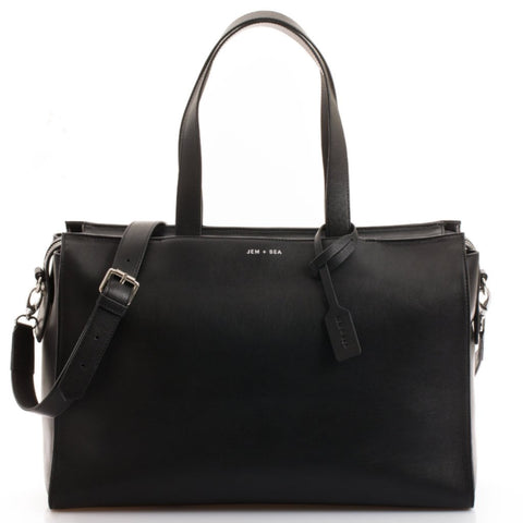 JEM+BEA Margot Black Changing Bag