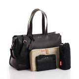 JEM + BEA Margot Black Changing Bag