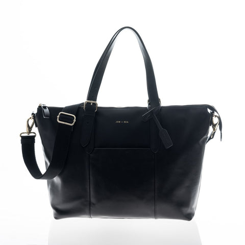 JEM + BEA Beatrice Black Changing Bag - Burble Baby - 1