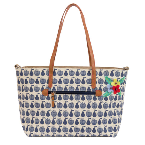 Pink Lining Notting Hill Tote Apples & Pears Changing Bag