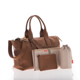 JEM + BEA Jemima Tan Changing Bag - Burble Baby - 2