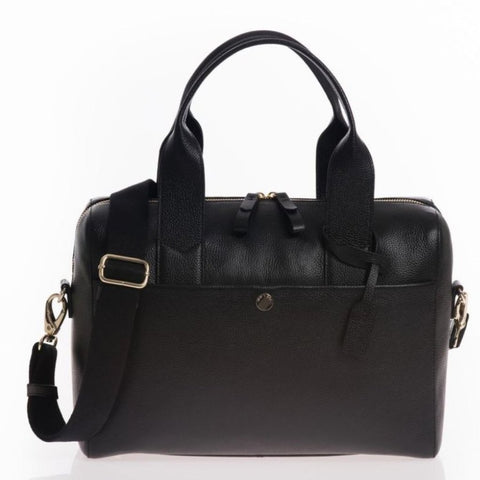 JEM + BEA Amber Black Changing Bag - Burble Baby - shop with 15% off your first order at Burble Baby