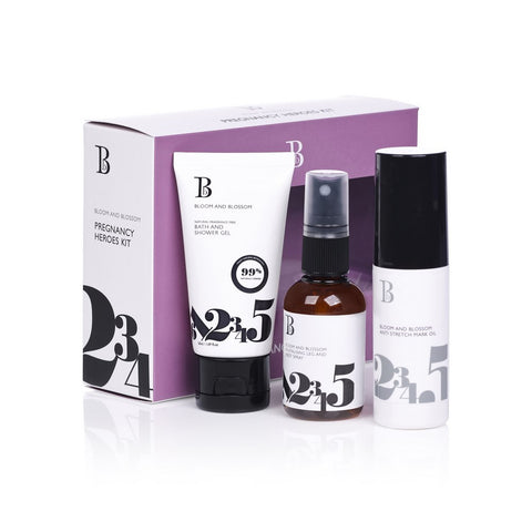 Bloom & Blossom Pregnancy Heroes Trio Skincare Kit