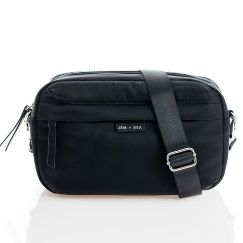 JEM + BEA Cici Crossbody Black Changing Bag