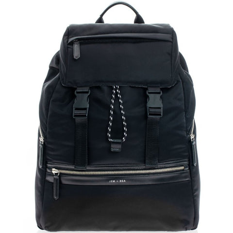 JEM + BEA Elliott Black Backpack
