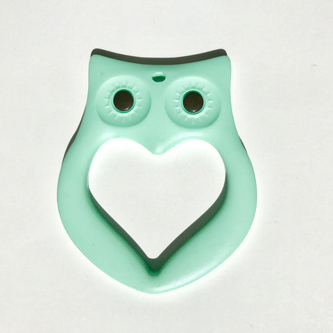 Mama Knows Mint Owl Teether