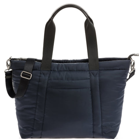 JEM+BEA Romy Puffer Tote Navy Changing Bag