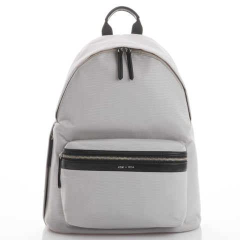 JEM+BEA Jamie Grey Backpack Changing Bag