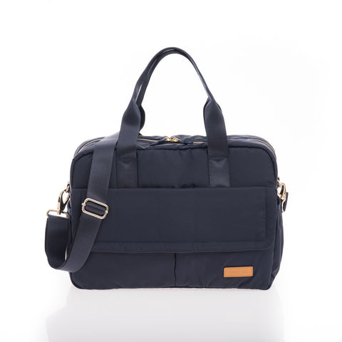 JEM+BEA Marlow Duffel Navy Changing Bag - Burble Baby