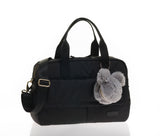 JEM + BEA Marlow Duffel Black Changing Bag