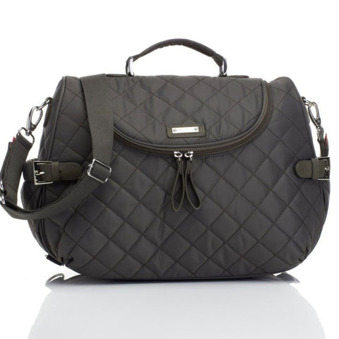 Storksak Poppy Changing Bag Charcoal Grey