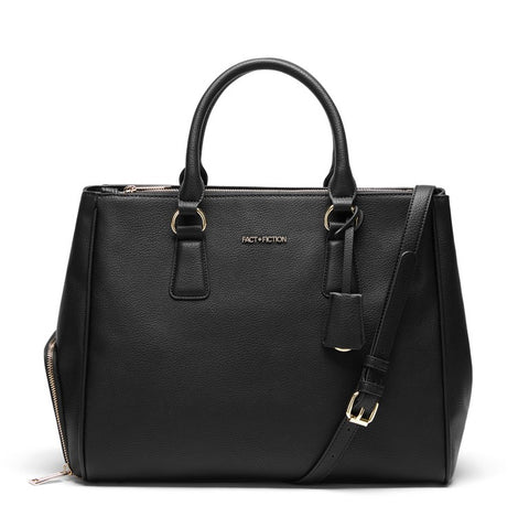 FACT + FICTION Sophia Tote Black
