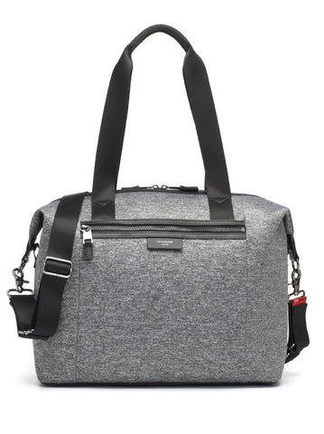 Storksak Stevie Luxe Grey Marl Scuba Changing Bag