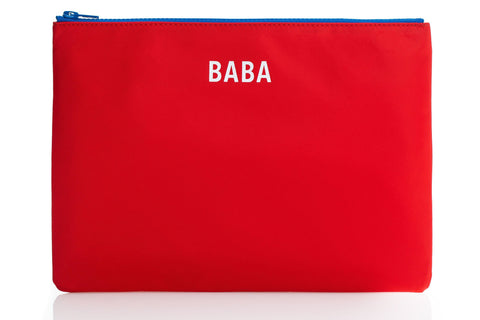 JEM + BEA Red BABA Pouch