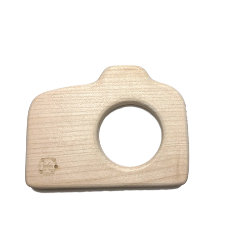 Organic Wooden Camera Teether