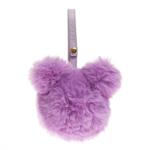 JEM + BEA Lilac Dummy Bear Bag