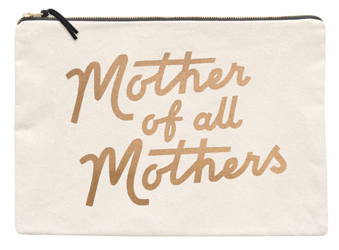 'Mother of All Mothers' Extra Large Travel Pouch