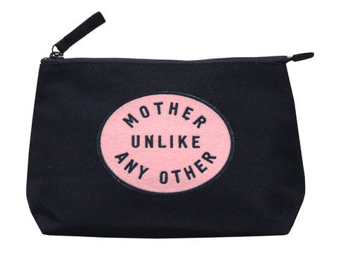 Mother Unlike Any Other Black Makeup Bag
