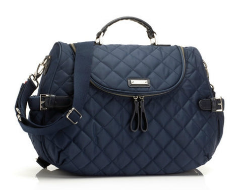 Storksak Poppy Changing Bag Charcoal Navy
