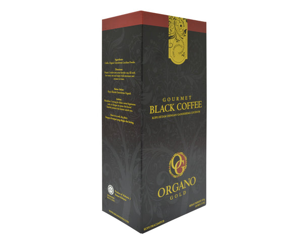 Organo Gold Black Coffee Organic Ganoderma Gourmet Coffee - Zeat - 1