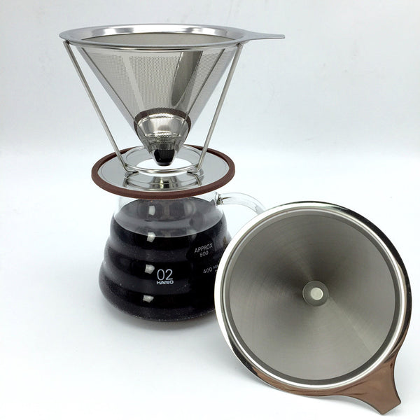 Portable stainless steel coffee filters - Zeat - 2