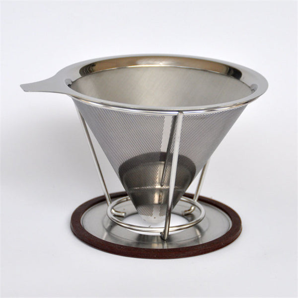 Portable stainless steel coffee filters - Zeat - 1