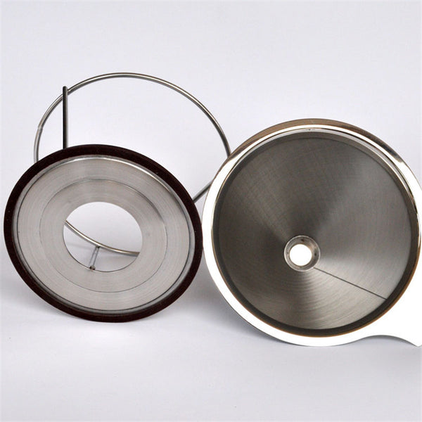 Portable stainless steel coffee filters - Zeat - 5