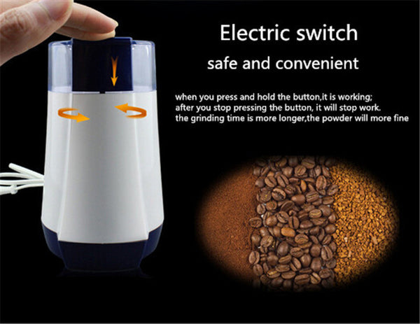 TintonLife 2 Colors Household Electric Coffee Grinder Automatic Muilt-Function Coffee Grinder - Zeat - 5