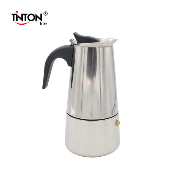Stainless Steel Moka Espresso Latte Percolator Stove Top Coffee Pot - Zeat - 2