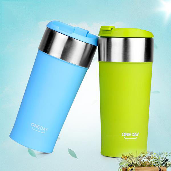 Cool Stainless Steel Coffee Mug Vacuum Flasks & Thermoses Thermos Cup - Need Coffee Time