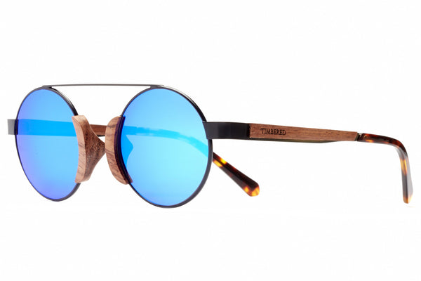 W&M - Blue - Timbered sunglasses, Wooden sunglasses - Wooden sunglasses, Timbered - Timbered