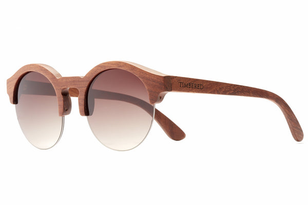 Rosewood - Natural - Timbered sunglasses, Wooden sunglasses - Wooden sunglasses, Timbered - Timbered