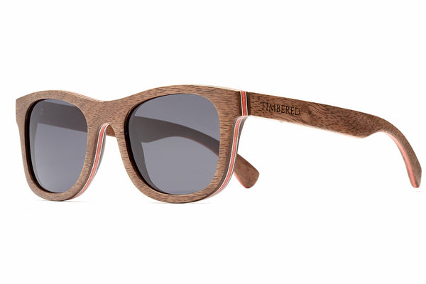 Walnut - Classic - Timbered sunglasses, Wooden sunglasses - Wooden sunglasses, Timbered - Timbered