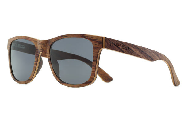 Rosewood - Classic, Træsolbrille fra Timbered