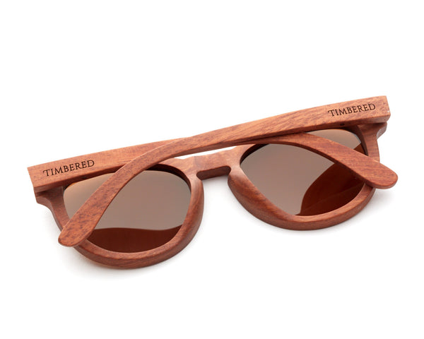 Rosewood - Cat eye - Timbered sunglasses, Wooden sunglasses - Wooden sunglasses, Timbered - Timbered