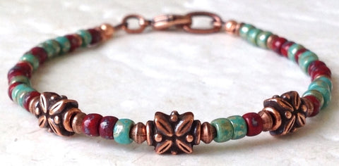 Boho Chic Bracelet - Festive By Nature