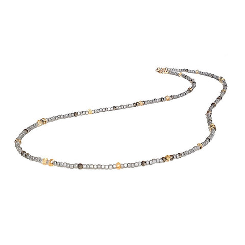 Delicate Gemstone Layering Necklace or Bracelet - Festive By Nature
