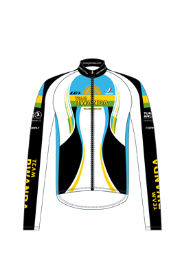 Team Rwanda Race Jersey (Long Sleeve)