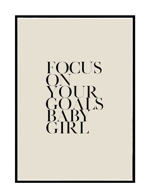 FOCUS ON YOUR GOALS NUDE