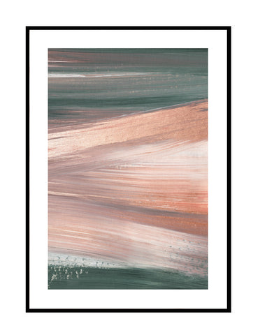 COPPER BLUSH AND GREEN