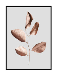 GILDED LEAVES ROSE GOLD / GREY