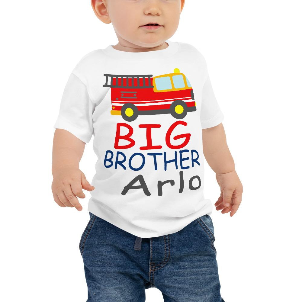 Little Brother Shirt New Baby Body Suit Baby Shirt Little Brother One Piece Little Brother New Baby One Piece Little Brother Body Suit