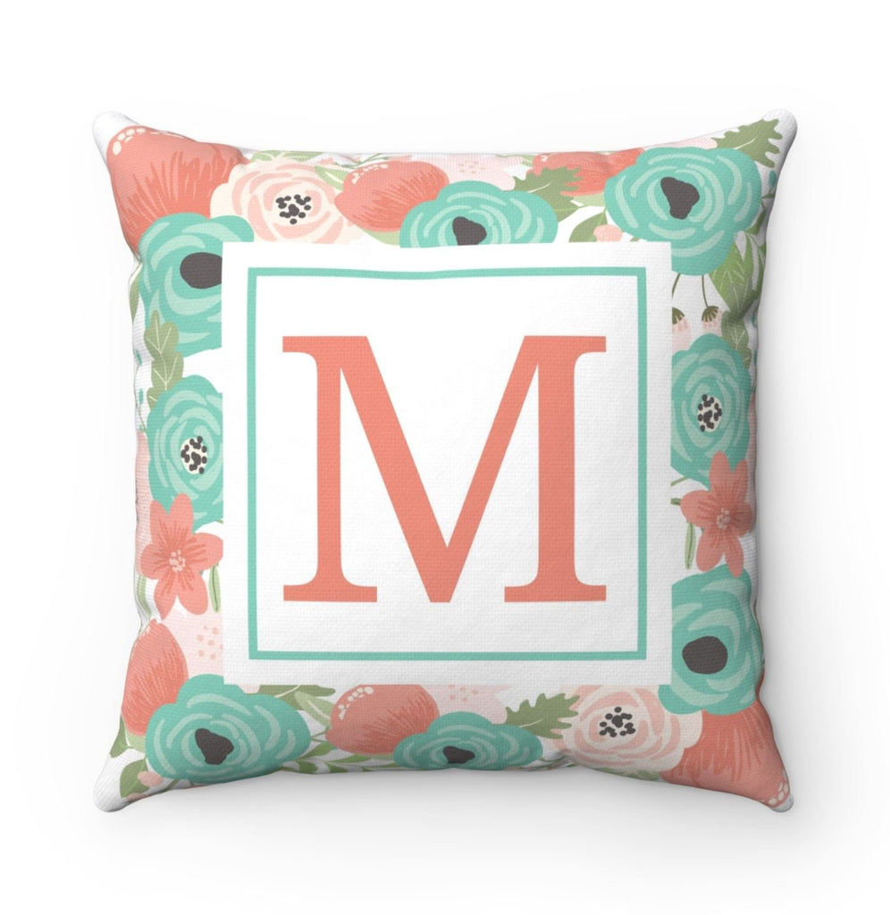 Personalized Gift Personalized Pillow Monogrammed Gift Monogram Pillow Rustic Home Decor Decorative Pillows Home Decor