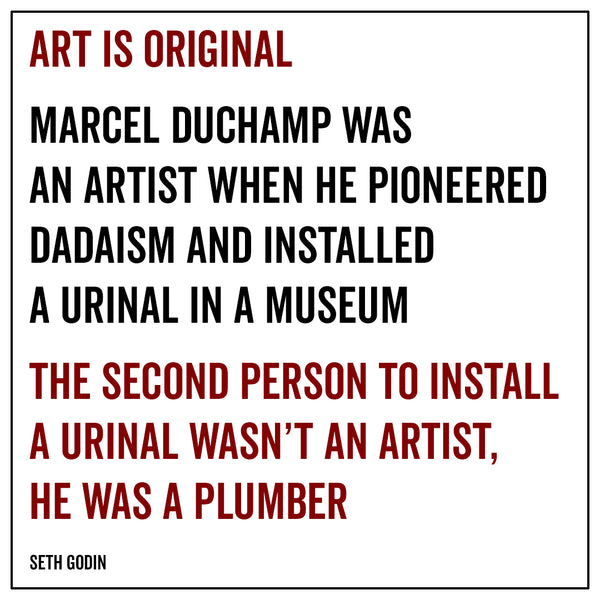 Art is original