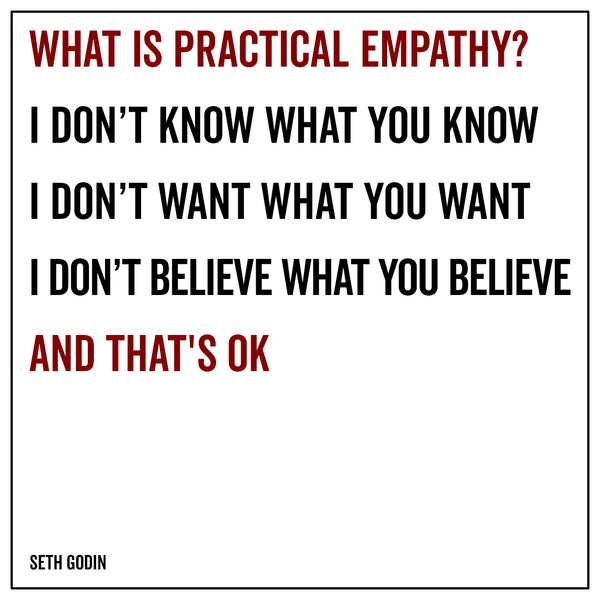 What is practical empathy
