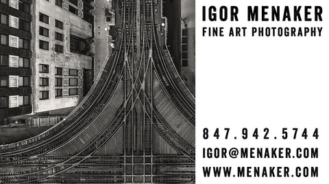 Igor Menaker Business Card
