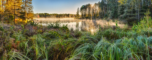 Morning Fog on Bass Lake - Igor Menaker Fine Art Photography