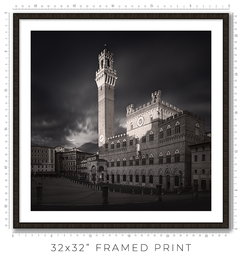 Siena Sunset - Igor Menaker Fine Art Photography